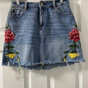 Pacsun Mini Jean Skirt
